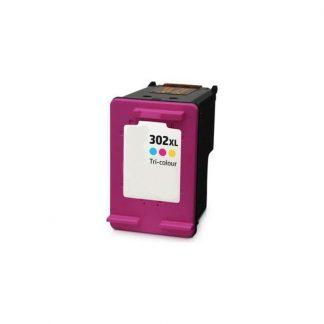 Tinteiro HP Reciclado 302 XL Cor (F6U67AE)